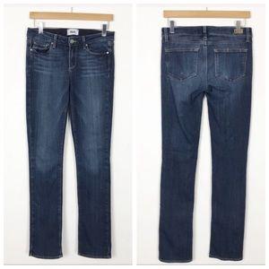 PAIGE Skyline Straight Denim Stretchy Jeans 27